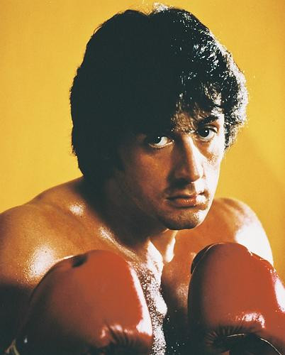 This is an image of 215121 Sylvester Stallone Photograph & Poster