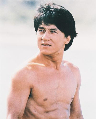 This is an image of 215783 Jackie Chan Photograph & Poster