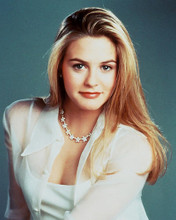 This is an image of 215910 Alicia Silverstone Photograph & Poster