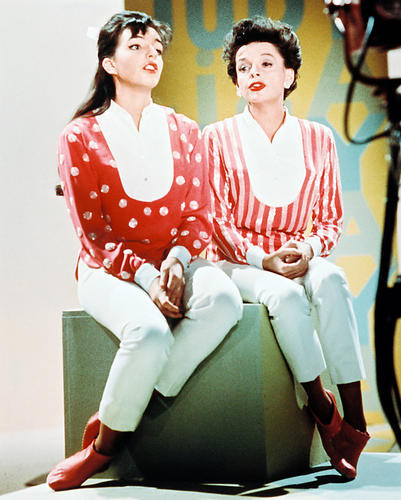 This is an image of 218334 Judy Garland & Liza Minnelli Photograph & Poster
