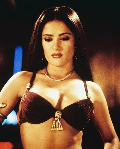 This is an image of 218353 Salma Hayek Photograph & Poster