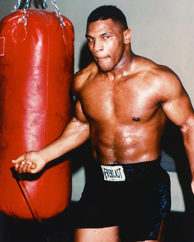 This is an image of 220779 Mike Tyson Photograph & Poster