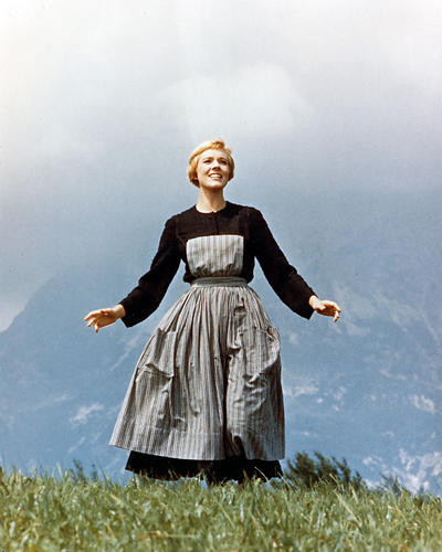 This is an image of 225659 Julie Andrews Photograph & Poster