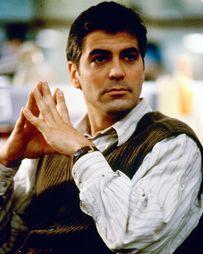 This is an image of 226143 George Clooney Photograph & Poster