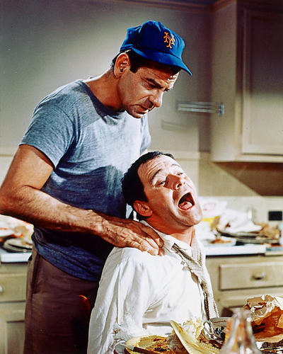 This is an image of 226671 Jack Lemmon & Walter Matthau Photograph & Poster