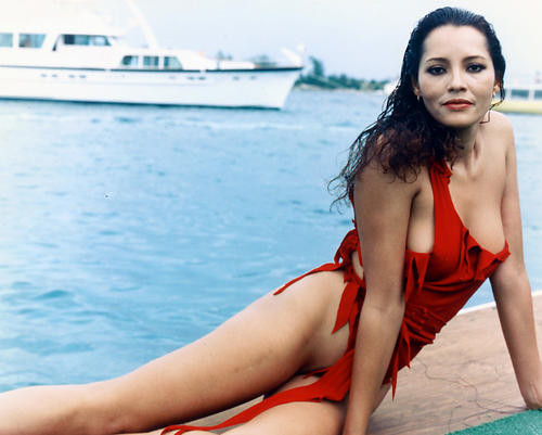 This is an image of 224372 Barbara Carrera Photograph & Poster