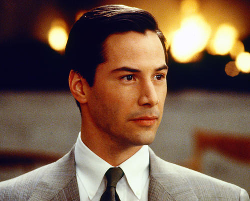 This is an image of 227073 Keanu Reeves Photograph & Poster