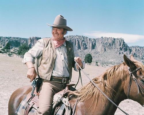 This is an image of 234407 John Wayne Photograph & Poster