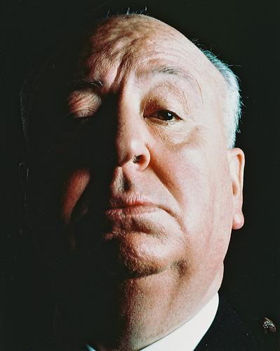 This is an image of 238408 Alfred Hitchcock Photograph & Poster