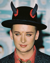 This is an image of 238807 Boy George Photograph & Poster