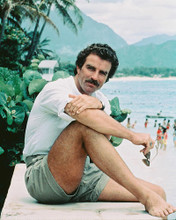 This is an image of 238954 Tom Selleck Photograph & Poster