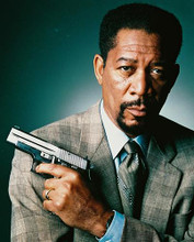 This is an image of 230514 Morgan Freeman Photograph & Poster