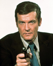 This is an image of 233313 Roger Moore Photograph & Poster