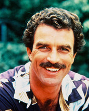 This is an image of 236031 Tom Selleck Photograph & Poster