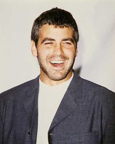This is an image of 235428 George Clooney Photograph & Poster