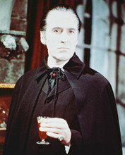 This is an image of 240920 Christopher Lee Photograph & Poster