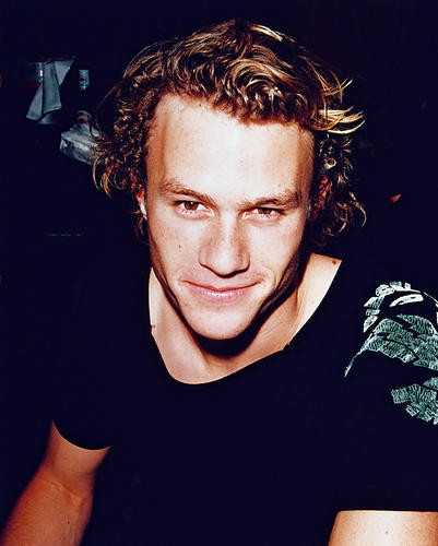This is an image of 242186 Heath Ledger Photograph & Poster