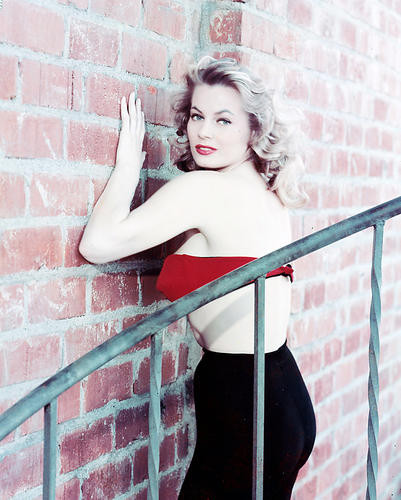 This is an image of 243334 Anita Ekberg Photograph & Poster