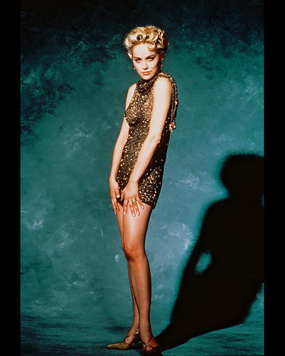 This is an image of 244188 Sharon Stone Photograph & Poster