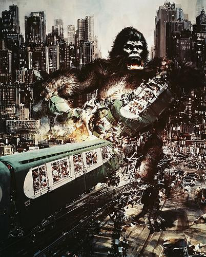 This is an image of 244886 King Kong Photograph & Poster