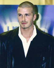 This is an image of 245128 David Beckham Photograph & Poster