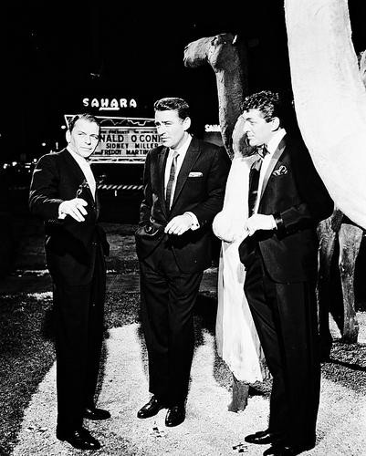 This is an image of 170625 Frank Sinatra & Dean Martin Photograph & Poster