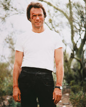 This is an image of 246016 Clint Eastwood Photograph & Poster