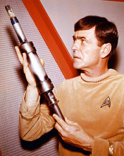 This is an image of 249754 James Doohan Photograph & Poster