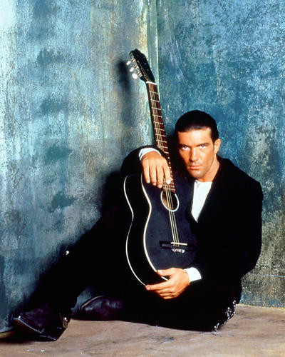 This is an image of 250074 Antonio Banderas Photograph & Poster