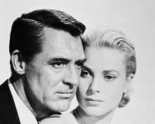 This is an image of 170127 Cary Grant & Grace Kelly Photograph & Poster
