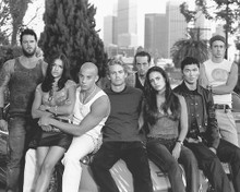 This is an image of 170949 Vin Diesel & Paul Walker Photograph & Poster