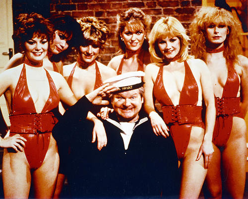 This is an image of 246462 Benny Hill Photograph & Poster