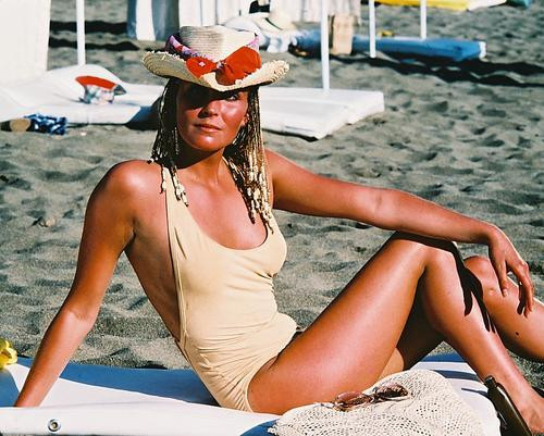 This is an image of 248102 Bo Derek Photograph & Poster