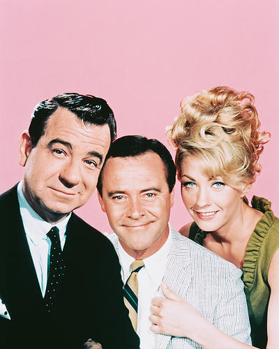 This is an image of 251185 Jack Lemmon & Walter Matthau Photograph & Poster