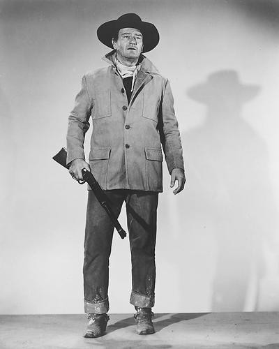 This is an image of 172054 John Wayne Photograph & Poster