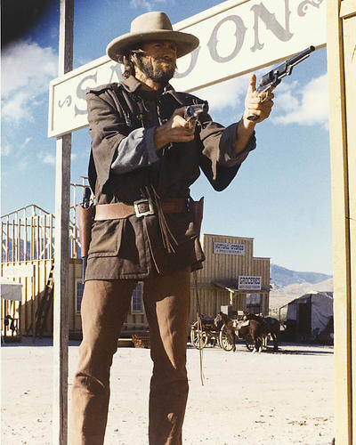 This is an image of 254973 Clint Eastwood Photograph & Poster