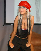 This is an image of 254889 Christina Aguilera Photograph & Poster