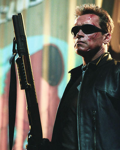 This is an image of 256550 Arnold Schwarzenegger Photograph & Poster
