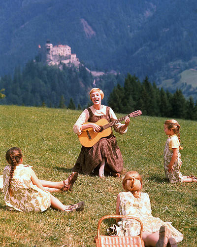 This is an image of 258386 Julie Andrews Photograph & Poster