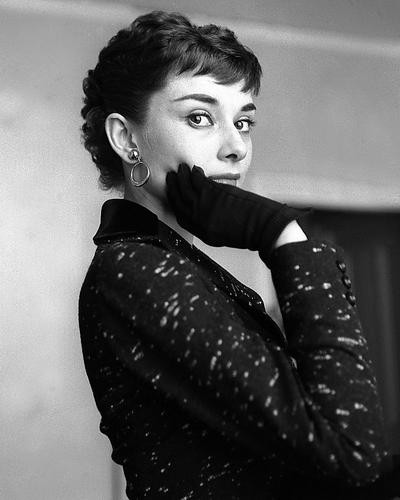 This is an image of 175066 Audrey Hepburn Photograph & Poster