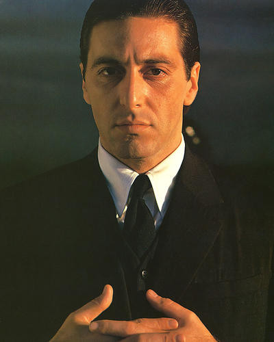 This is an image of 264561 The Godfather Photograph & Poster
