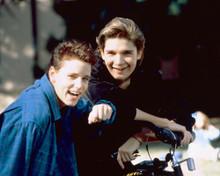 This is an image of 251123 Corey Haim & Corey Feldman Photograph & Poster