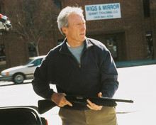 This is an image of 253262 Clint Eastwood Photograph & Poster