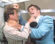 This is an image of 256004 Roger Moore & Richard Kiel Photograph & Poster