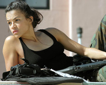 This is an image of 256045 Michelle Rodriguez Photograph & Poster