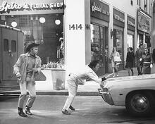 This is an image of 176696 Midnight Cowboy Photograph & Poster