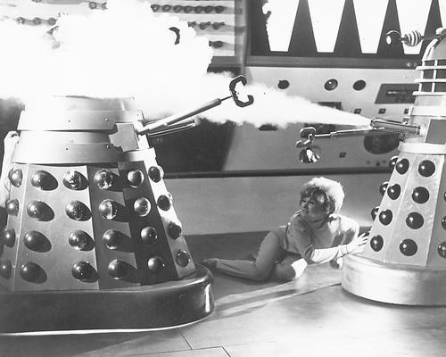 This is an image of 176996 Dr. Who and the Daleks Photograph & Poster