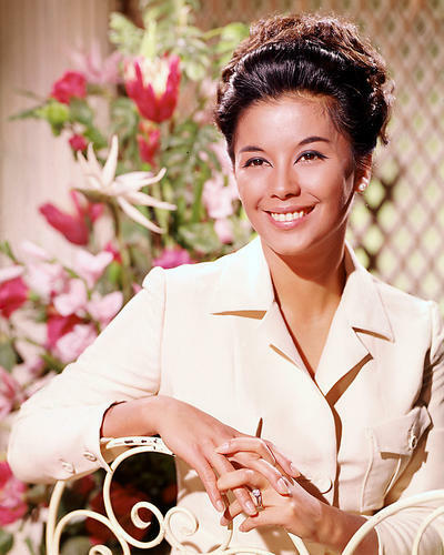 This is an image of 265118 France Nuyen Photograph & Poster