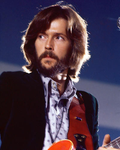 This is an image of 266303 Eric Clapton Photograph & Poster