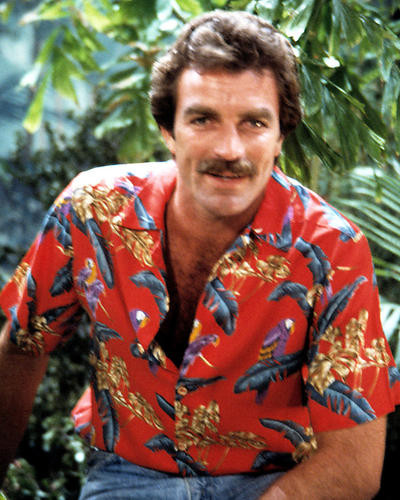 This is an image of 266166 Tom Selleck Photograph & Poster